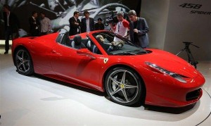 Ferrari 458 Spider(Magic Car Pics, Microsoft)